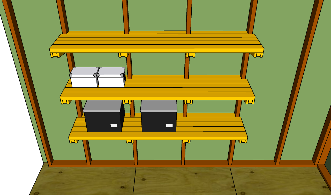 Garage Shelving Plans to Organize Your Garage Stuff