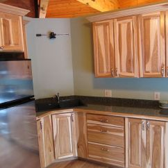 Home Depot Kraftmaid Kitchen Cabinets Small Table Hickory Image To U