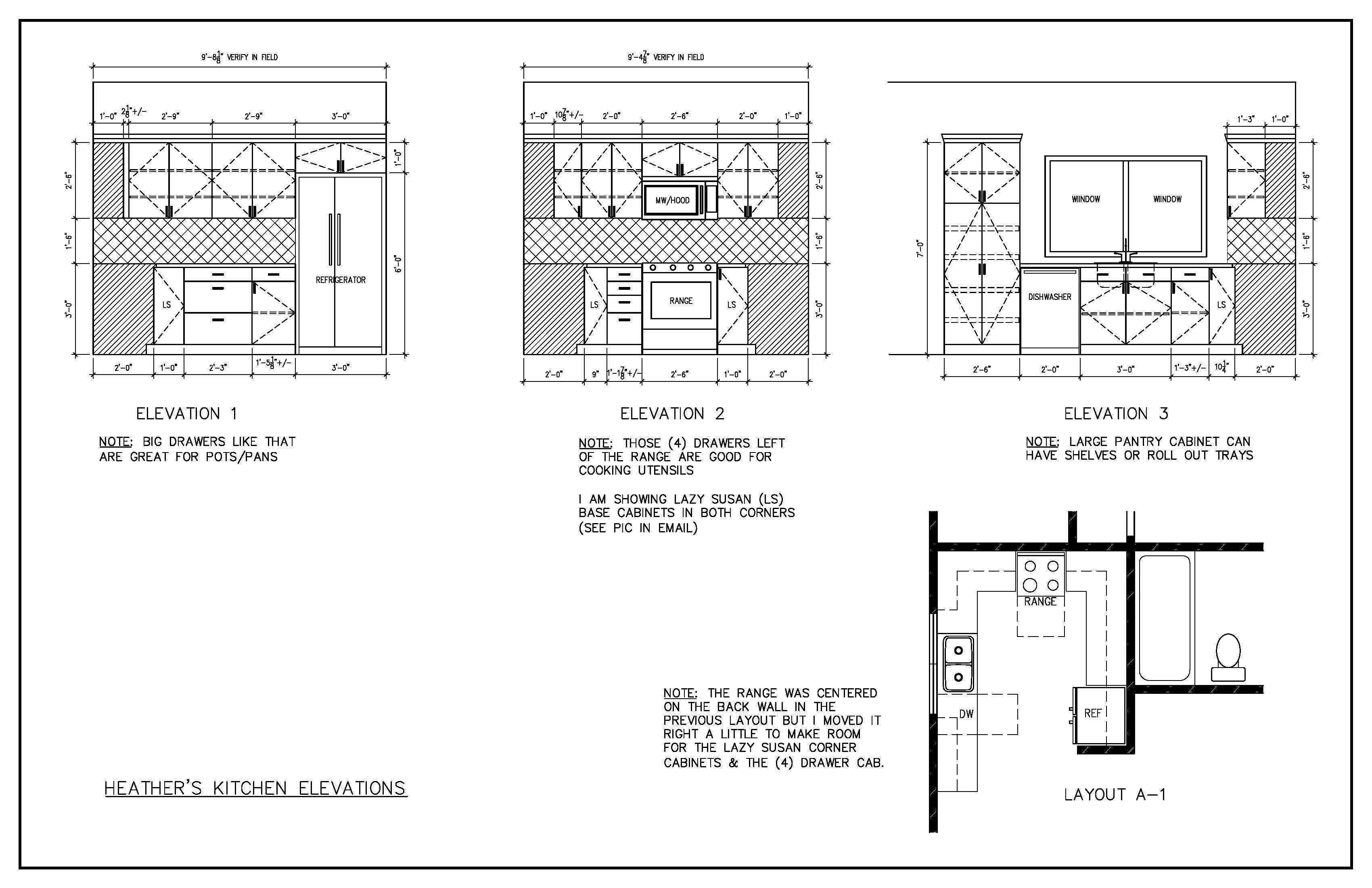 Kitchen Design Layout For Functional Small Kitchen