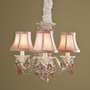 Red Chandelier Lamp Shades