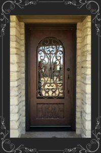 wrought iron doors cost - Wrought Iron Doors Design for ...