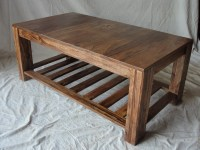 Simple Wooden Coffee Table - Home Design