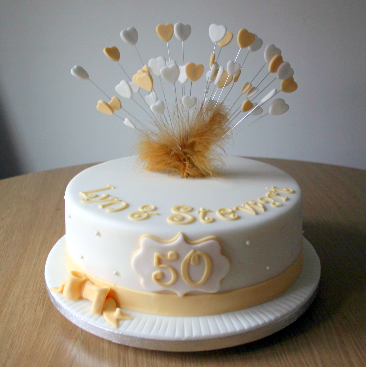 50th Anniversary Cakes That Are So Adorable For Your