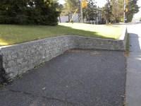 cinder block retaining wall drainage
