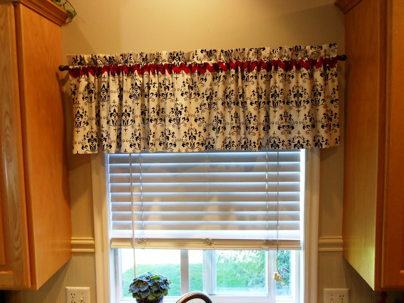 red valances for kitchen windows aid bowl in country style captivating looks