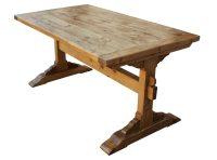 trestle dining table diy
