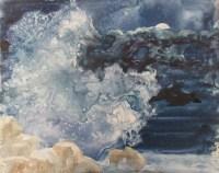 Watercolor Ocean Painting