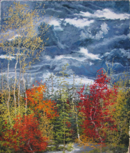 Pastel Maine Fall