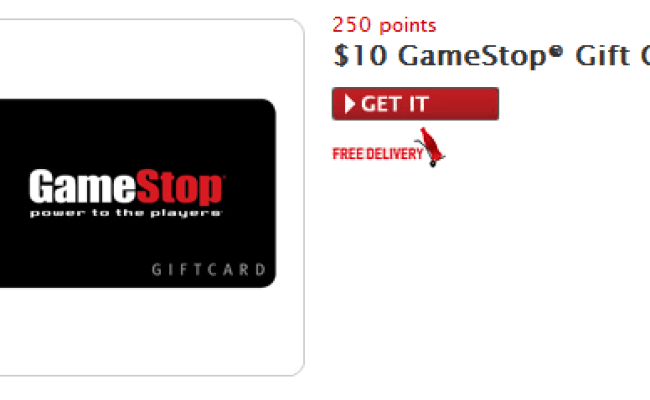 10 Gamestop Gift Card On Mycokerewards Who Said Nothing