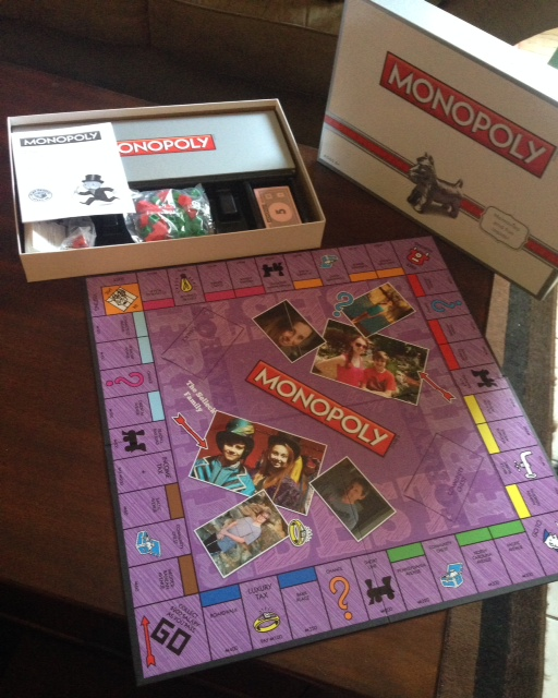 personalized monopoly boards from