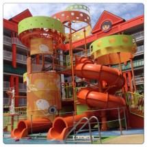 Hanging Pool Nickelodeon Hotel