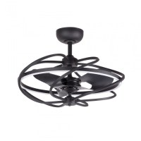 27 Inch Solstice Modern LED Reversible 3 Blade Ceiling Fan ...