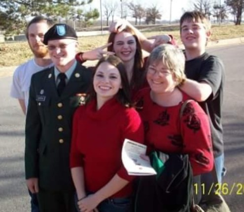 Clinton Family-Fort Leonard Wood 2008