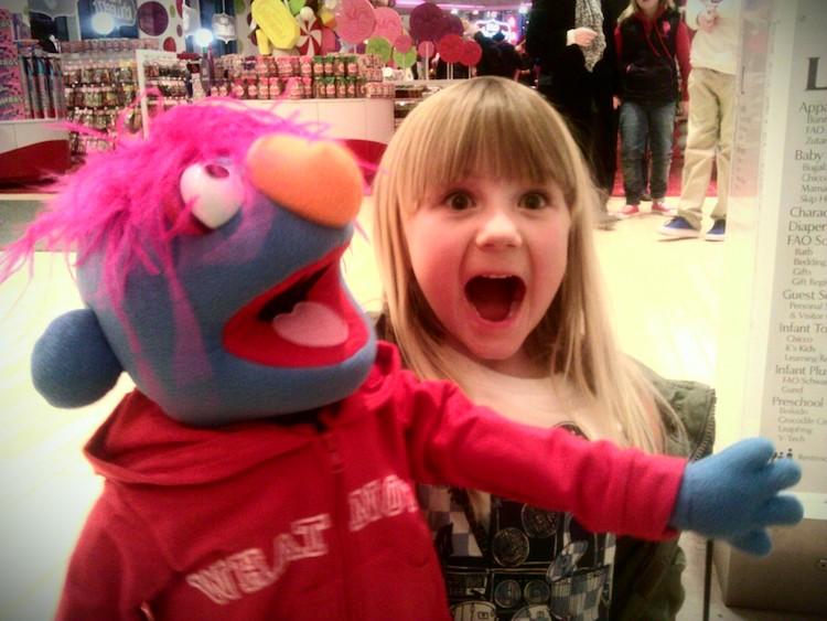 make a muppet NYC