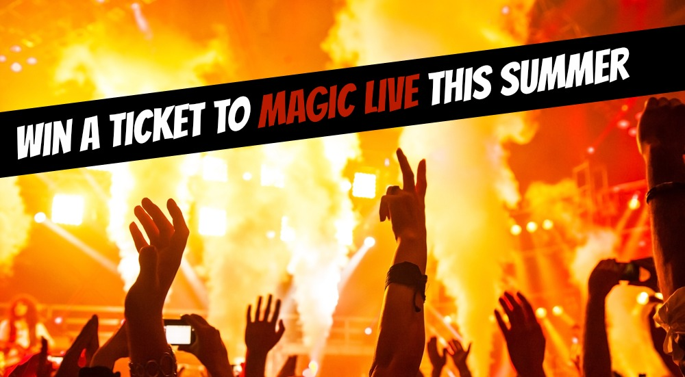 competition win tickets magic summer live festival