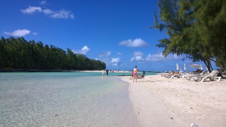 Mauritius tropical beach