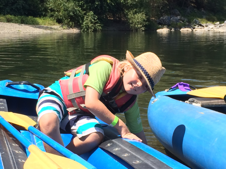 rafting russian river