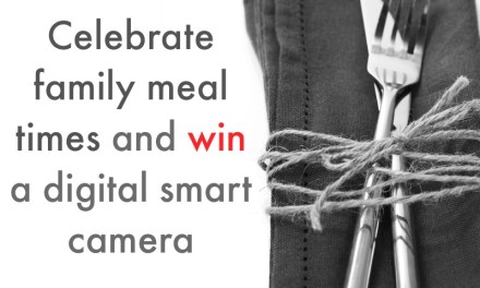 Celebrate Family Mealtimes and win a Smart Camera with Birds Eye