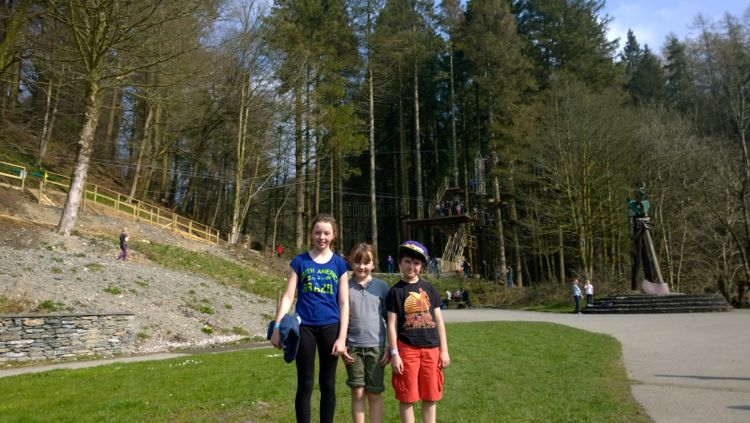 Go Ape Grizedale Forest