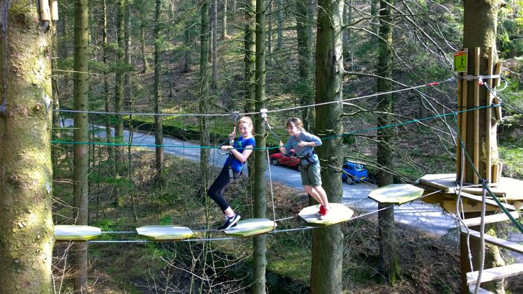 go ape gift experience for kids