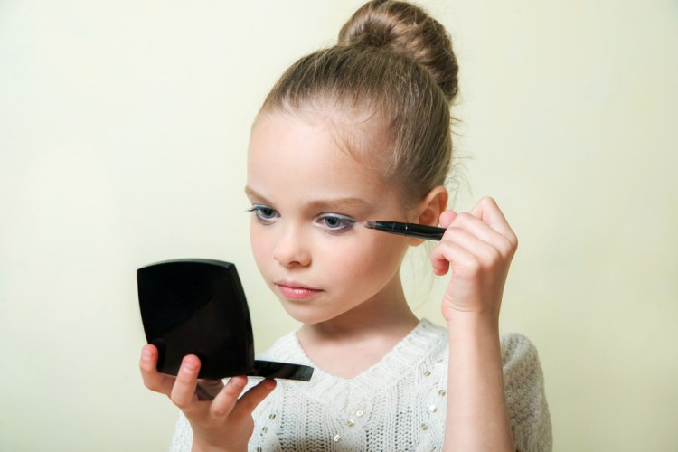 kids make-up