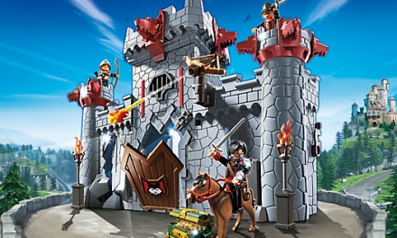 Win a Family Ticket to Toyopia and a Super-4 Playmobil Set