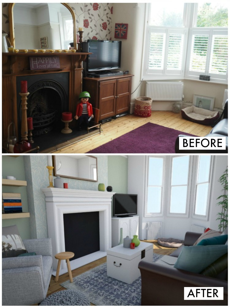 lounge makeover