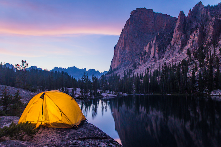 salmon river camping
