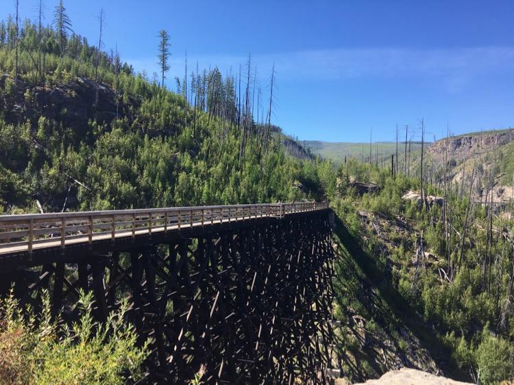 myra canyon trail