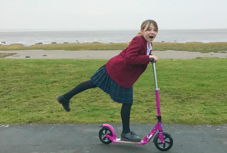 micro scooter flex deluxe
