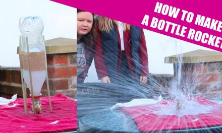 How to Make a Bottle Rocket with Terrific Scientific