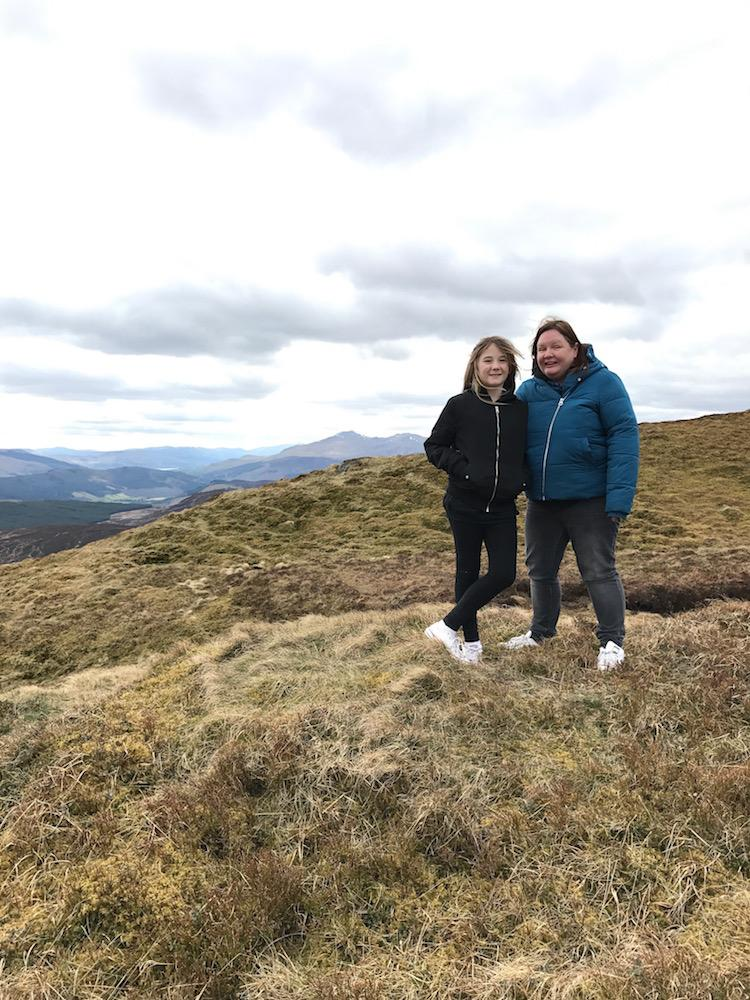 us on a hill perthshire