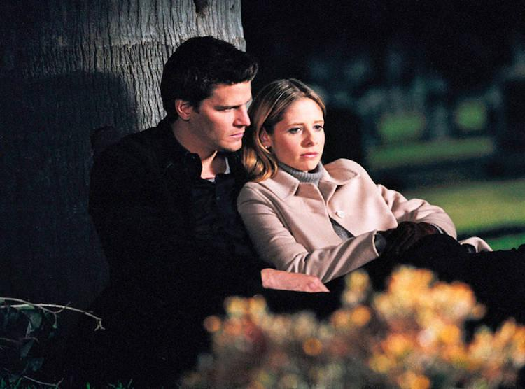 Best TV couples Buffy and Angel
