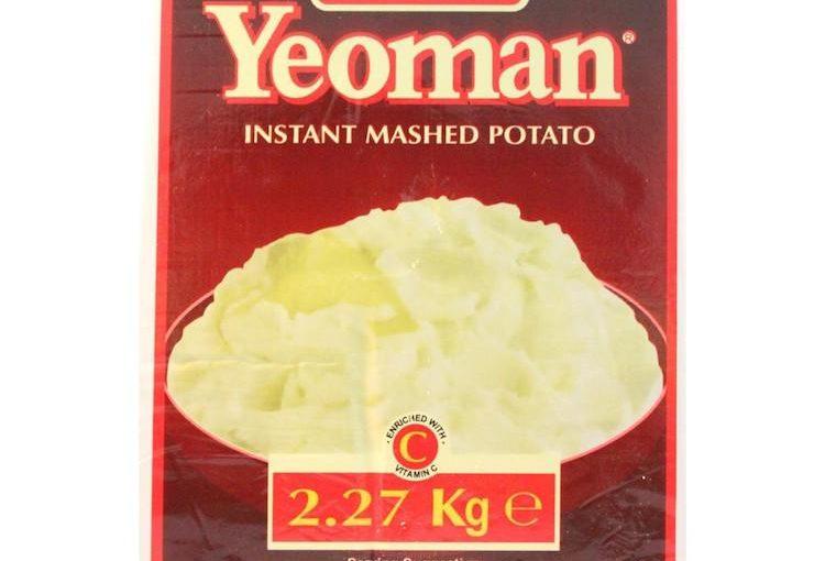 1980s instant mash