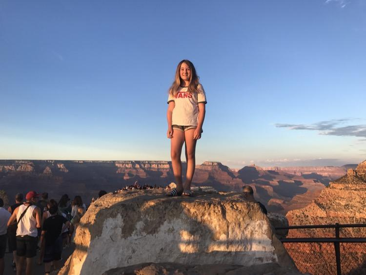 Things to do at The Grand Canyon when you're 12