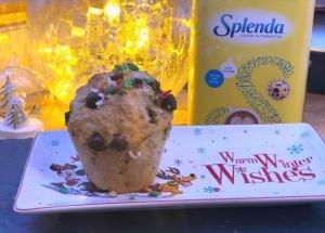 splenda chocolate chip muffins