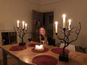 candles twilight