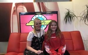 TV presenting training for children