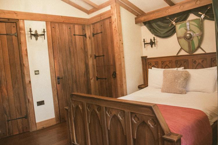 warwick castle lodges interior
