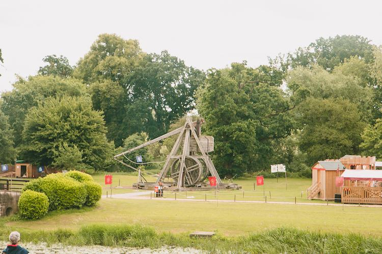 trebuchet at warwick castle