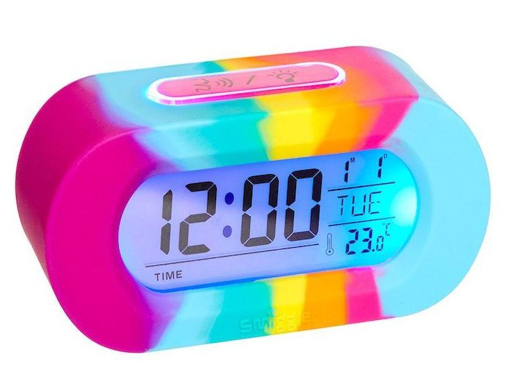 smiggle talking clock