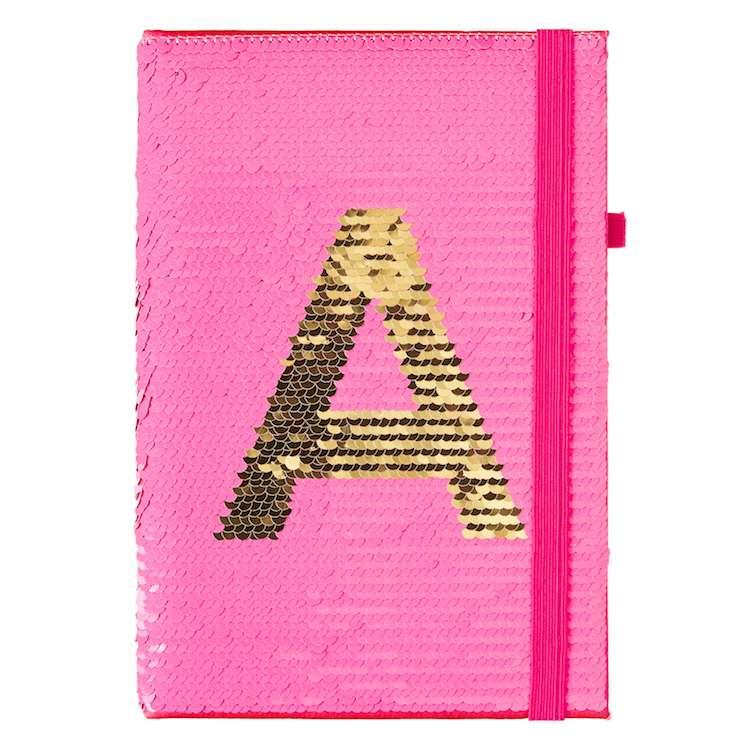 smiggle sequin notebook