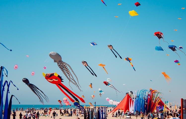 narbonne plage kites