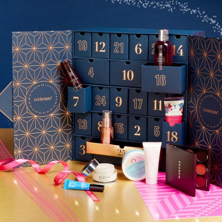 lookfantastic advent calendar contents