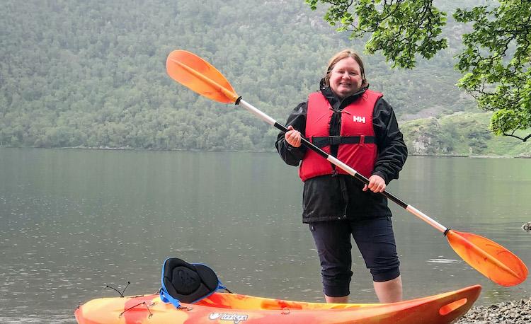 kayaking lake district