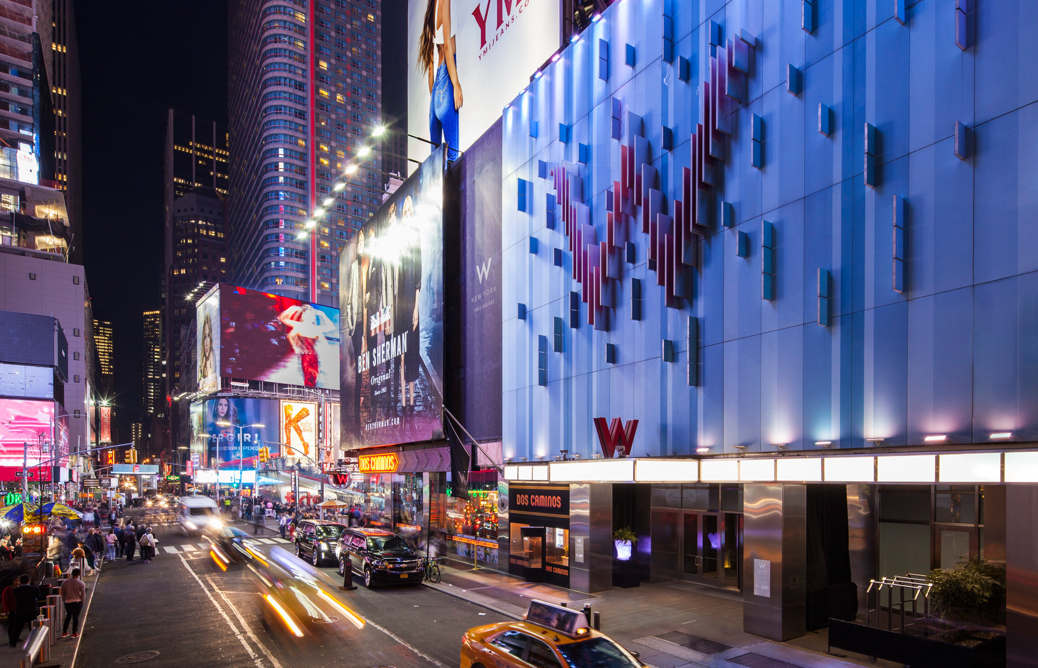 W New York Times Square W Hotels Of New York