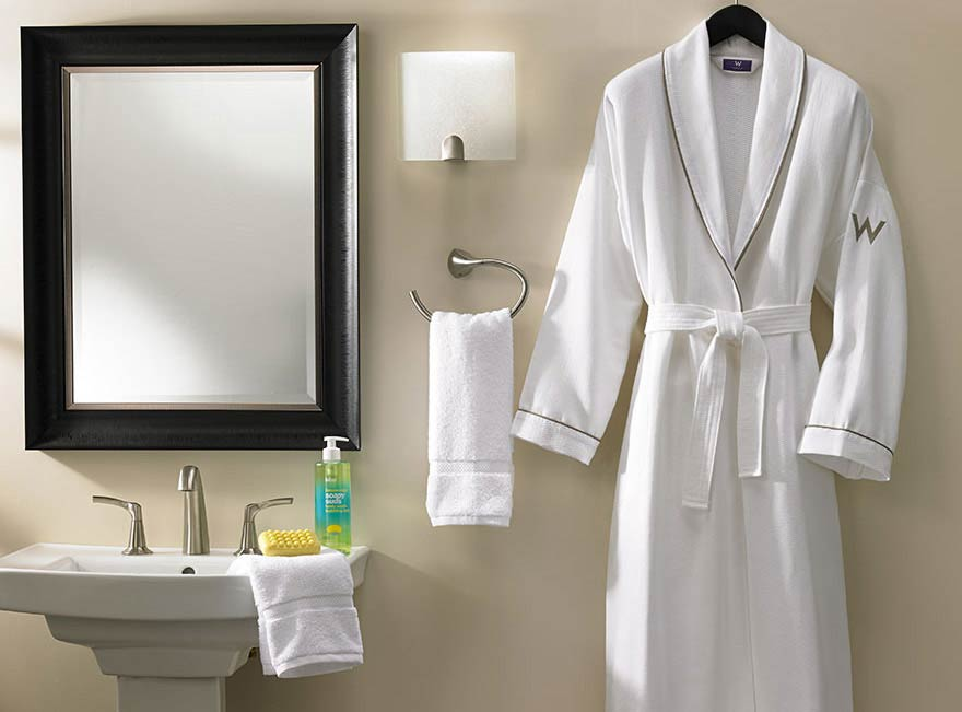W Robes  W Hotels The Store