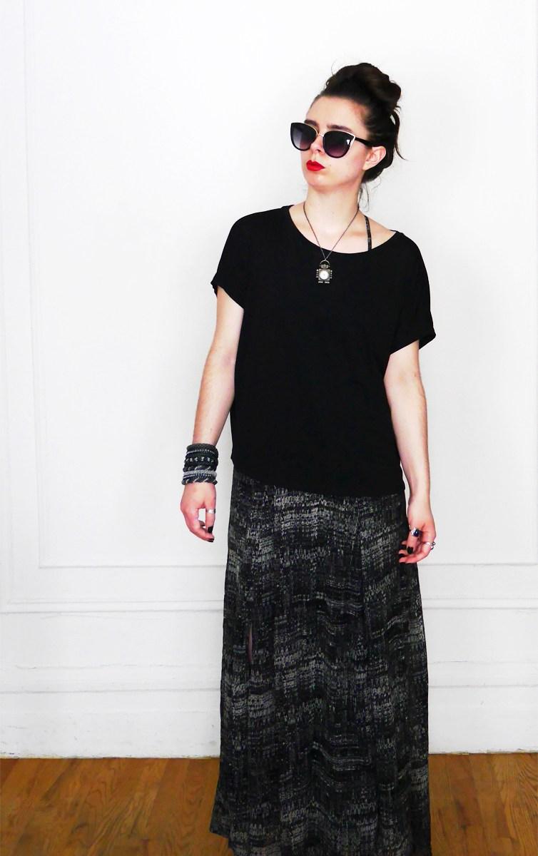 10x10 Wardrobe Challenge Dress+SlouchyTee 5