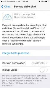 backup whatsapp iphone