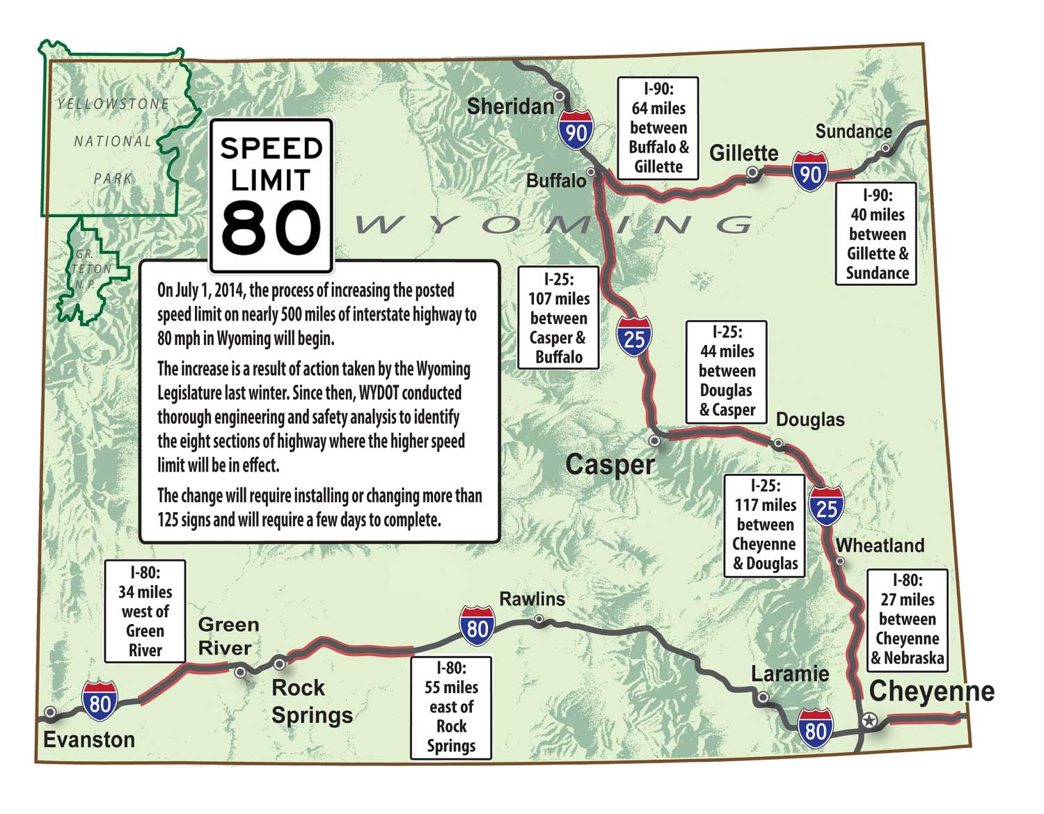 Speed Limits Across The Us X587 Map
